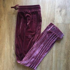 e3e6cc1f3ee0 adidas Pants - adidas Originals Velvet Vibes SST Track Pants